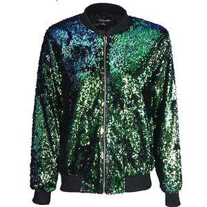 Jackets & Blazers - Sparkle bomber jacket